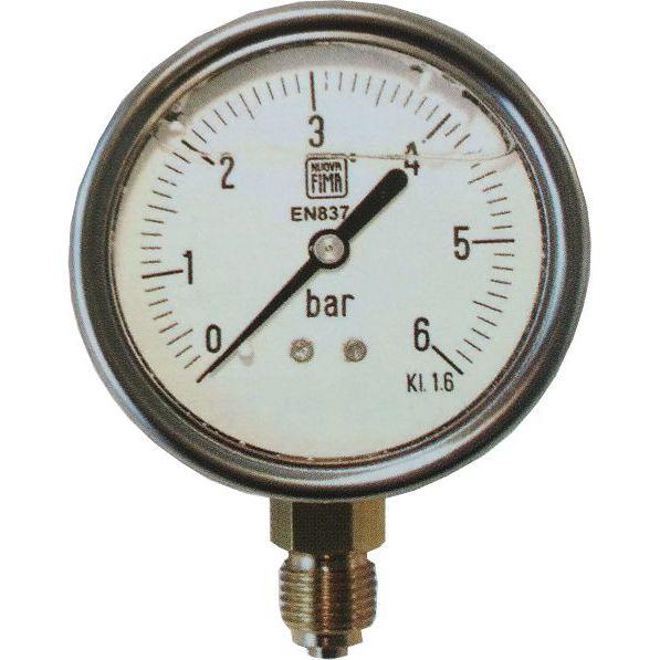 Utilizado en fontaner/ía y jardiner/ía para CALCULA la PRESI/ÓN exacta de funcionamiento en las tuber/ías MANOMETRO esfera GLICERINA 0-25 Bar 1//2